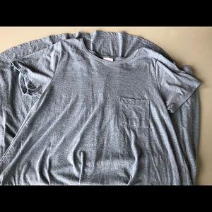 NWOT LuLaRoe Carly Heathered Blue Dress